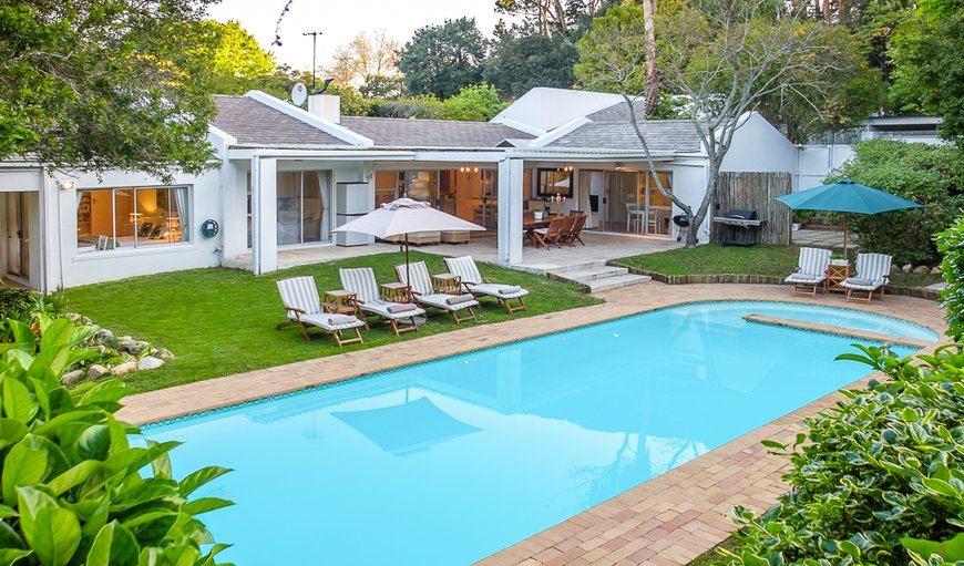 The Villa Pool Area in Constantia, Cape Town, Western Cape , South Africa