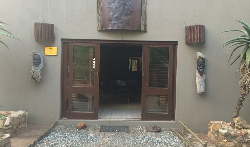Entrance door of Bushwise Safari lodge