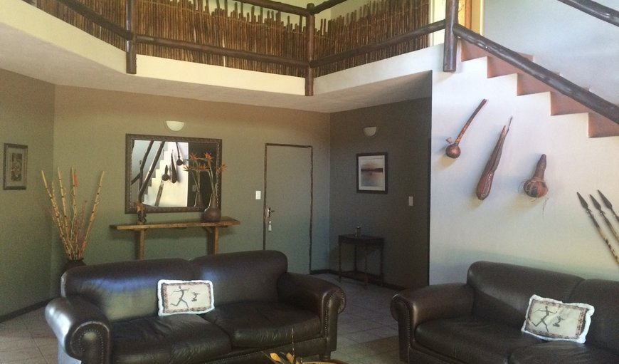 Lounge area where our guests can relax after a day in the Kruger