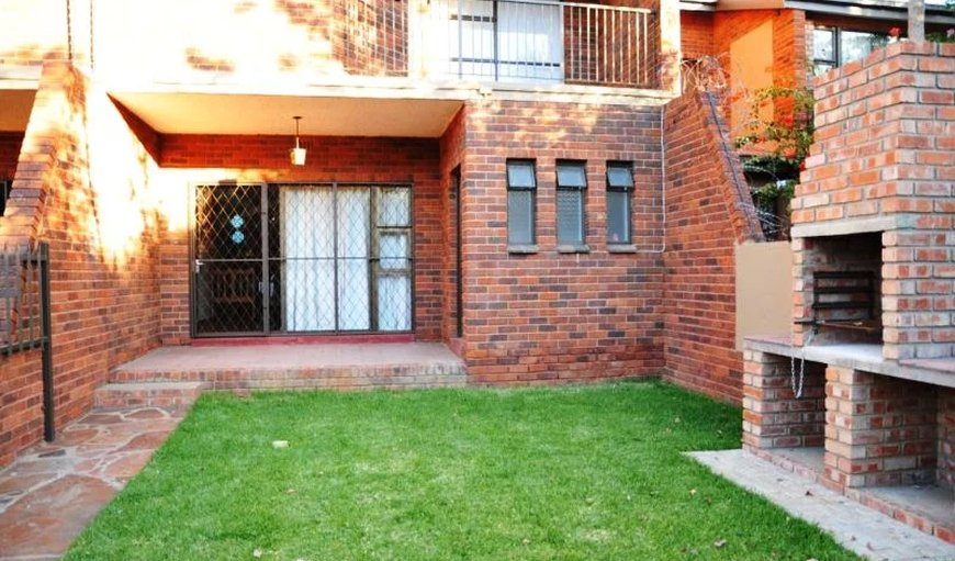 Executive Self-Catering Units - Each unit has access to a small garden with braai facilities. in Kimberley, Northern Cape, South Africa