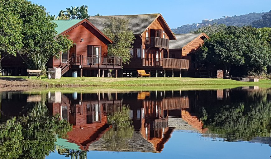 River Front View in Wilderness, Western Cape, South Africa