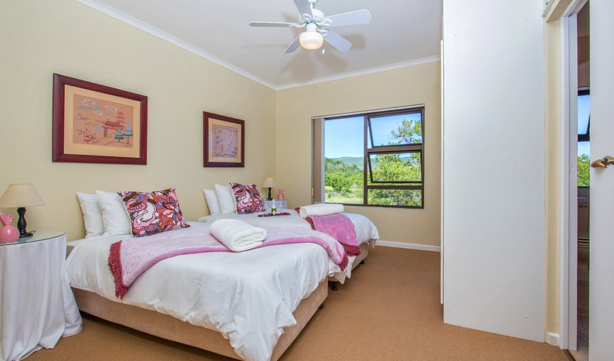 2 SINGLE BEDS, CAN DEVERT INTO A DOUBLE BED, SEMI-BATH ROOM,