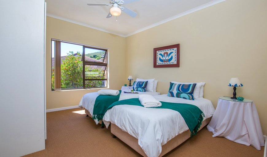 TWO SINGLE BEDS CAN DIVERT INTO A DOUBLE BED, SEMI BATHROOM, DSTV, AIRCON, COFFEE AND TEA FACILITIES
