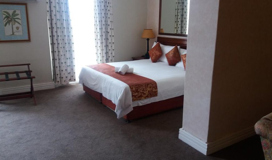 The executive room has a King-sized bed