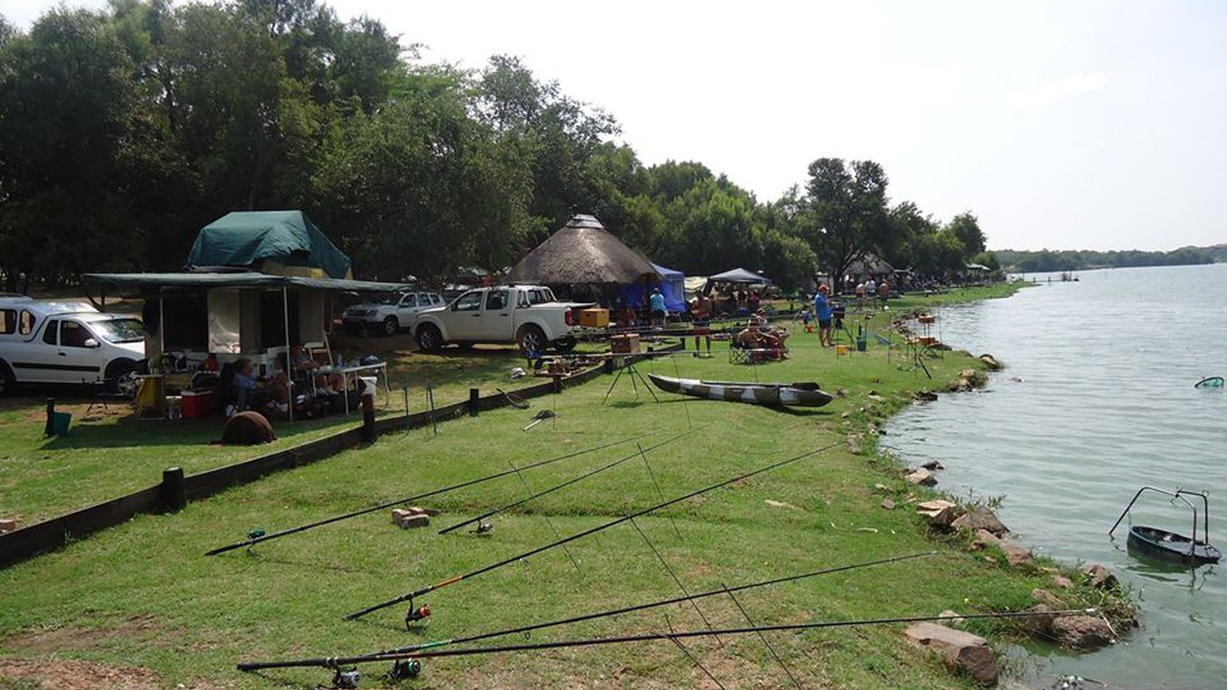 Cast catch fishing and camping in dinokeng game reserve for Campsites with fishing
