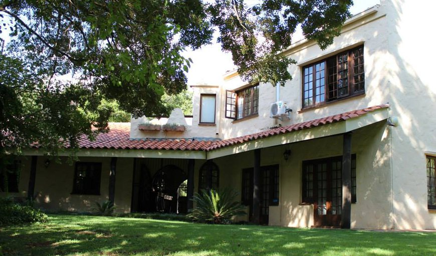 The Lodge Main building in Potchefstroom, North West Province, South Africa
