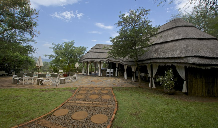 Bush Camp living area in Pongola, KwaZulu-Natal , South Africa