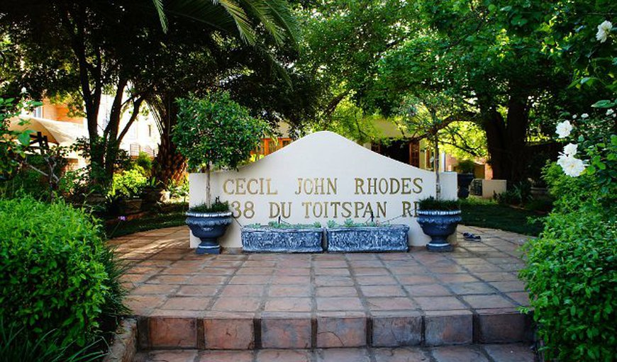 Cecil John Rhodes Guest House in Kimberley, Northern Cape, South Africa
