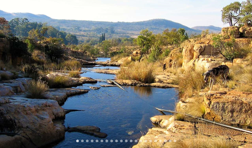 Beautiful Natural Rock Pools in Rustenburg, North West Province, South Africa