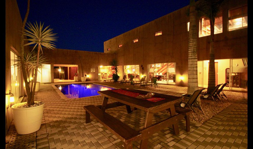 Courtyard in Hoedspruit, Limpopo, South Africa
