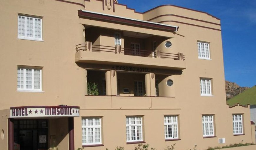 Masonic Hotel in Springbok, Northern Cape, South Africa