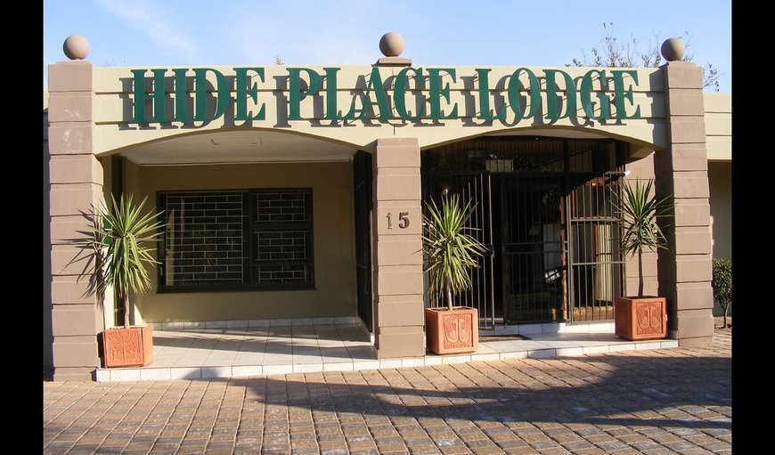Welcome to Hide Place Lodge in Bloemfontein, Free State Province, South Africa