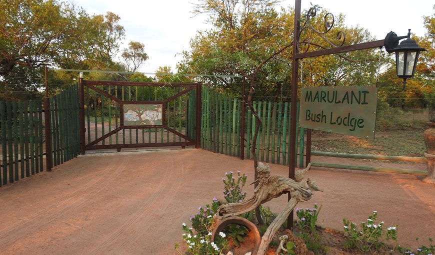 Welcome at ...... Marulani Bush Lodge.