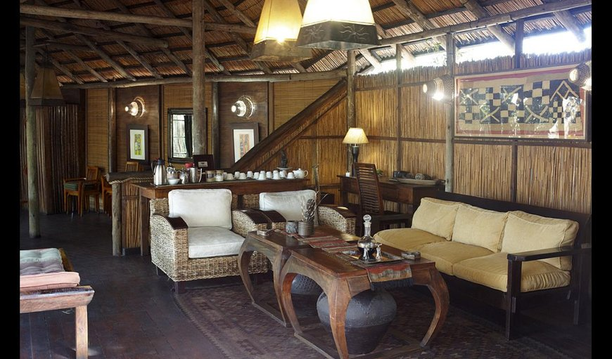 Kosi Forest Lodge lounge area.