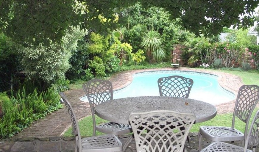 Pool area in Grahamstown, Eastern Cape, South Africa