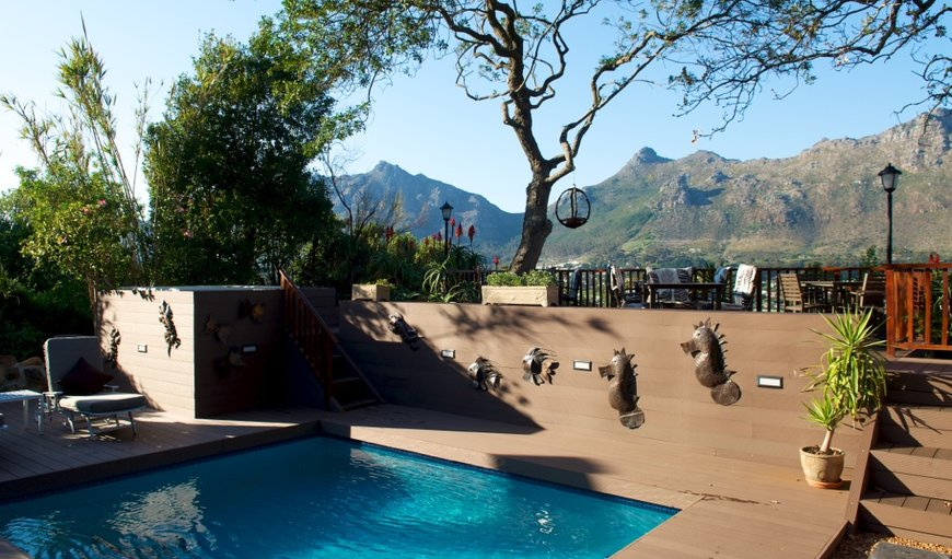 Pool, Patio and Jacuzzi in Hout Bay, Cape Town, Western Cape, South Africa