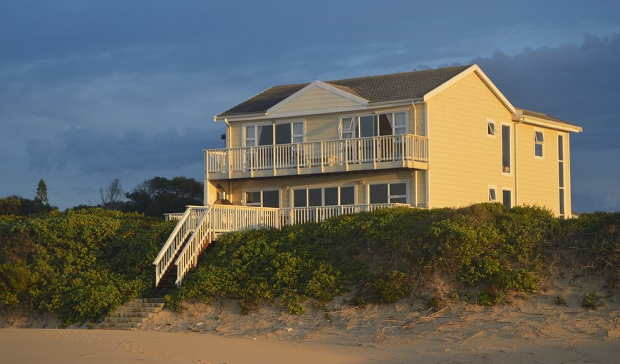 Beach front accommodation in Cannon Rocks, Eastern Cape, South Africa