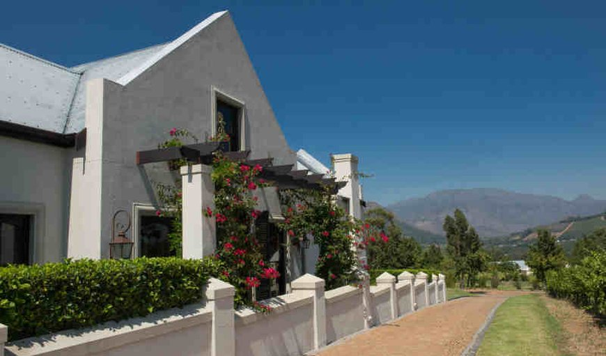 Welcome to Villa Apaltha in Franschhoek, Western Cape , South Africa