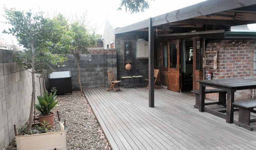 The Cottage - Entrance and Barbecue area in Gordon's Bay, Western Cape, South Africa