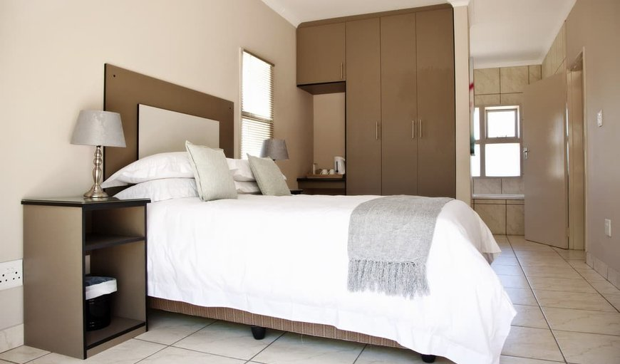 Standard Rooms with double bed, en-suite bathroom and DSTV.