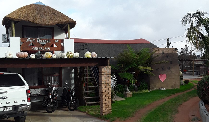 Main Entrance in Lutzville, Vredendal, Western Cape, South Africa