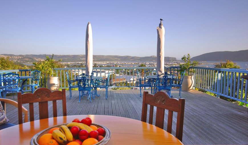 Mediterranean-style outdoor area, a garden, BBQ facilities, and a terrace with Indian Ocean and mountain views.