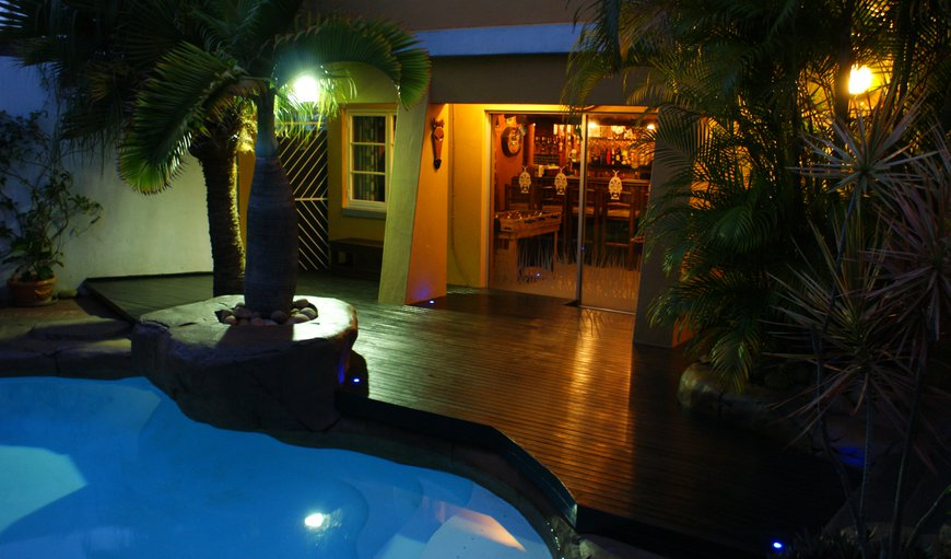 Pool & Bar Deck at Night