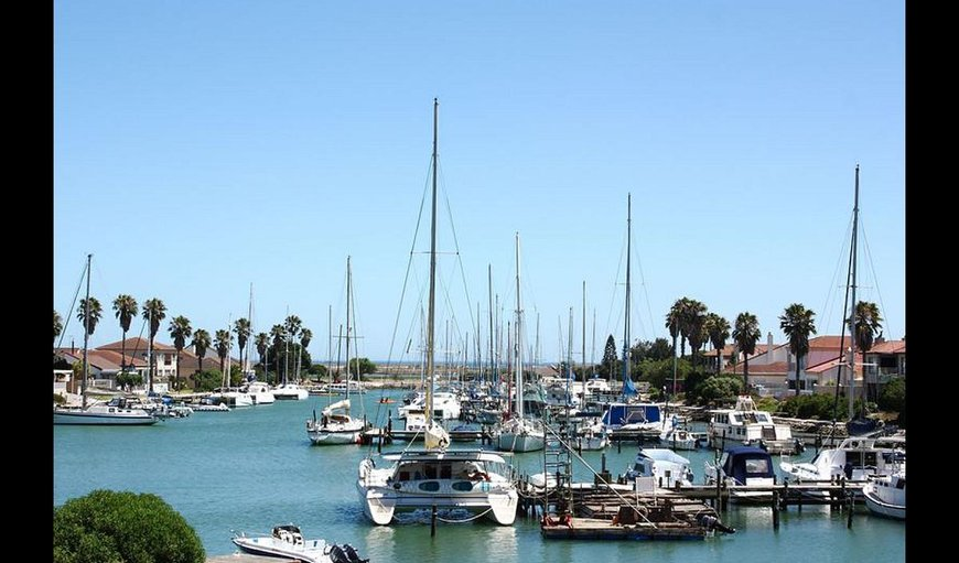 Port Owen marina. in Port Owen, Velddrif, Western Cape , South Africa