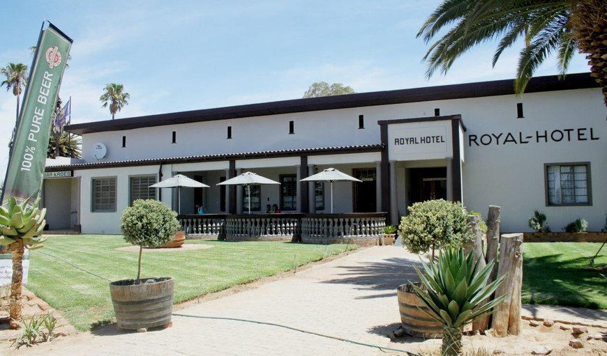 Welcome to The Royal hotel Willowmore in Willowmore, Eastern Cape, South Africa