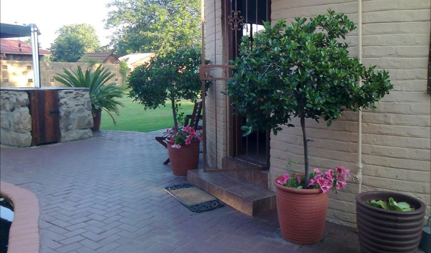 Entrance to rooms. in Ermelo, Mpumalanga, South Africa