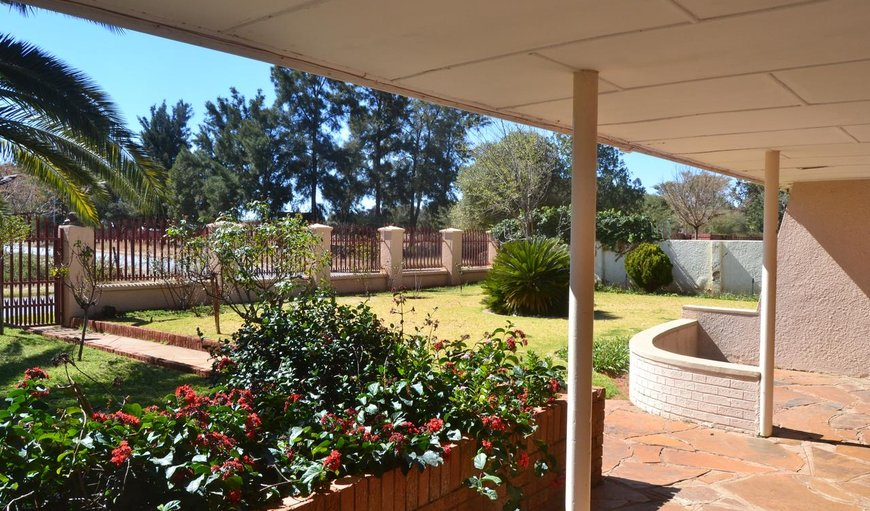 Garden in Kimberley, Northern Cape, South Africa