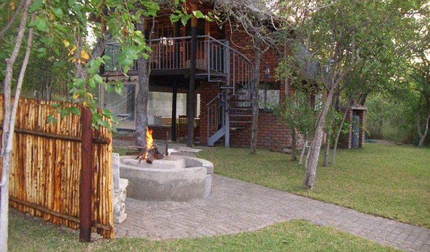 Kingfisher Chalet entrance. in Tzaneen, Limpopo, South Africa