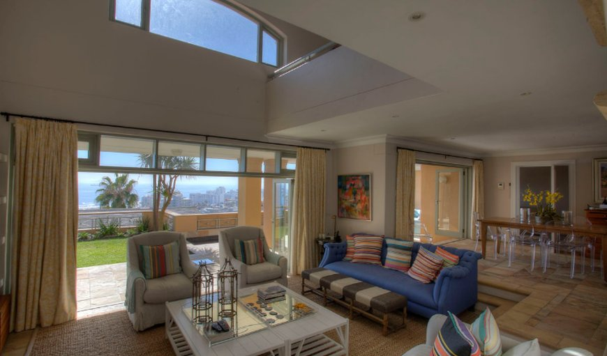 Ravine Views open-plan living area.