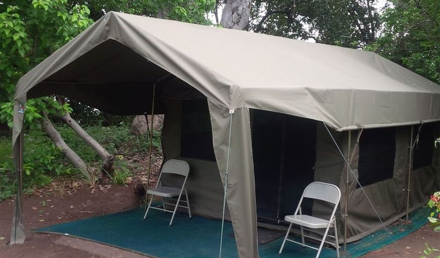 Budget Sahara Deluxe Tent in Maun, North West District, Botswana