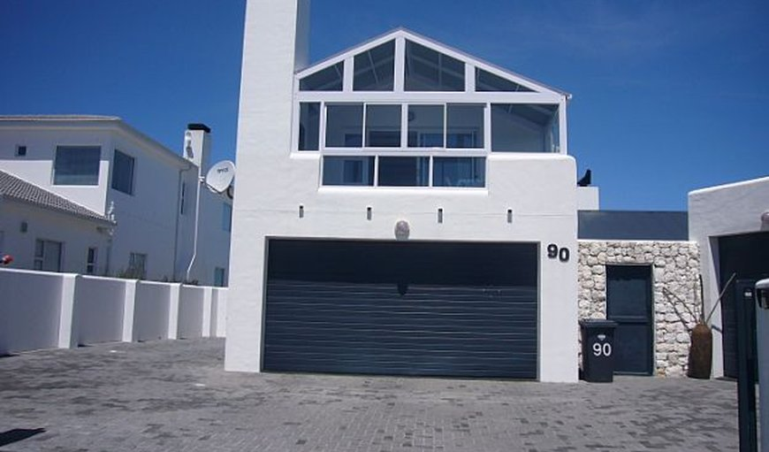Main house - Apartment is upstairs in Yzerfontein, Western Cape , South Africa