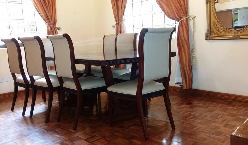 Evergreen Homestay dining area.