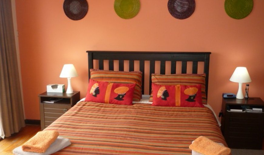 Songs Of The Sea bedroom with double bed.