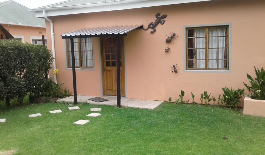 Bungalow 1 entrance. in Wakkerstroom, Mpumalanga, South Africa