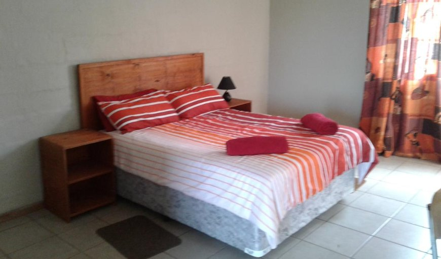 Bungalow 1 bedroom with double bed.