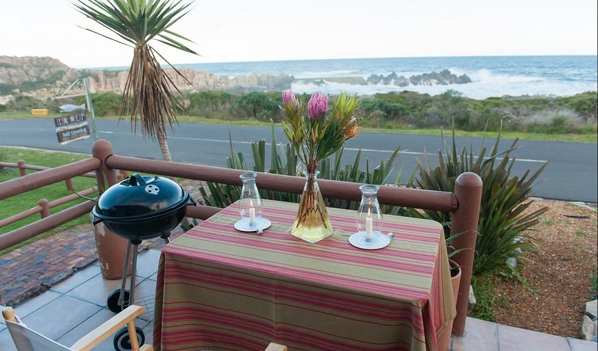 Self Catering Sea Front Apartment Patio