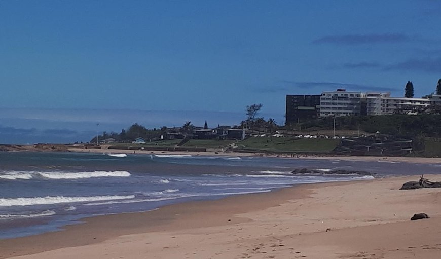 Scottburgh Beach. in Scottburgh, KwaZulu-Natal , South Africa