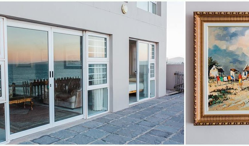Apartment on the ground floor of a 3 storey house in Langebaan , Western Cape , South Africa