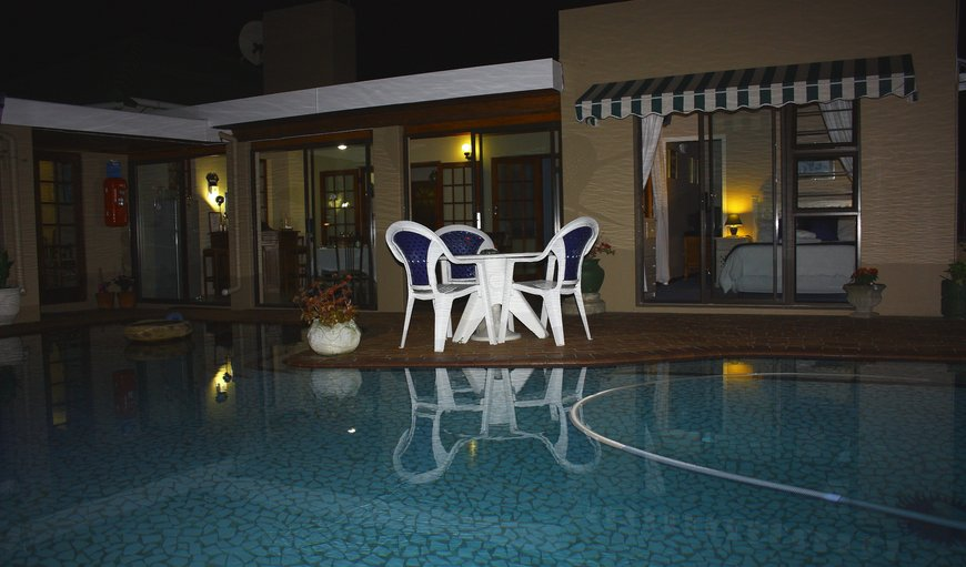 Pool Room & Dining Room at night in Stirling, East London, Eastern Cape, South Africa
