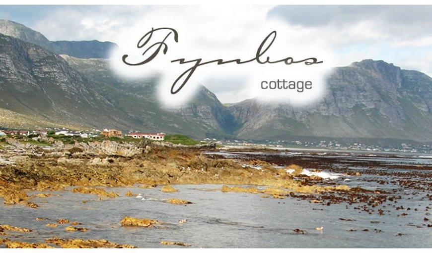 Fynbos Cottage 2 in Bettys Bay in Betty's Bay, Western Cape, South Africa