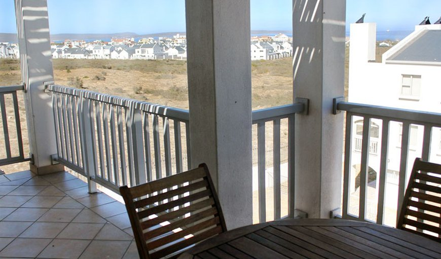 Patio with a view in Mykonos, Langebaan , Western Cape , South Africa