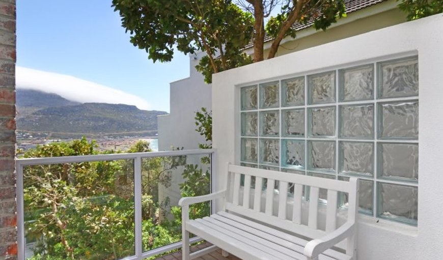 Balcony with a bench to sit on in Fish Hoek, Cape Town, Western Cape , South Africa