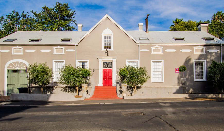 A recently renovated guest house located in Paarl's historical Mill Street.