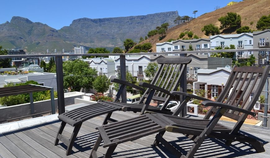Top roof deck in De Waterkant, Cape Town, Western Cape, South Africa