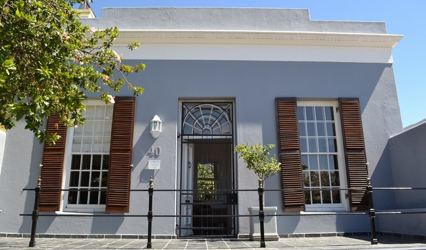 Welcome to 40 Napier Street in De Waterkant, Cape Town, Western Cape, South Africa