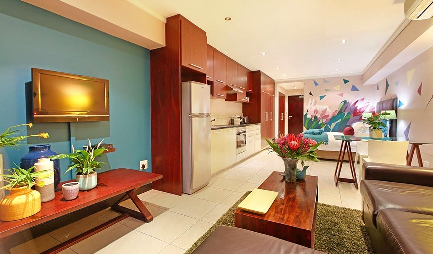 Open-plan studio apartment. in Cape Town City Centre / CBD, Cape Town, Western Cape , South Africa